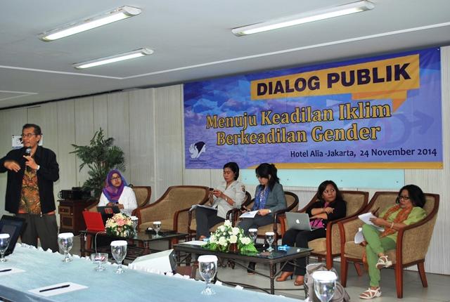 Dialog Publik Keadilan Iklim Berkeadilan Gender 24-11-2014 (3)