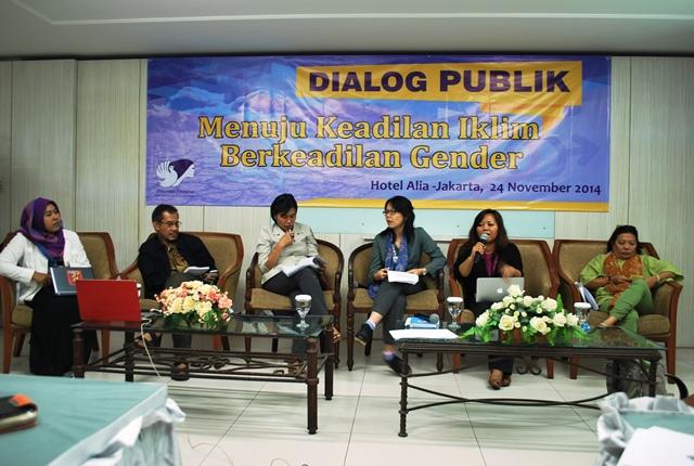 Dialog Publik Keadilan Iklim Berkeadilan Gender 24-11-2014 (6)
