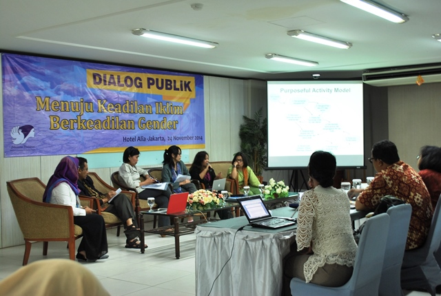 Dialog Publik Keadilan Iklim Berkeadilan Gender 24-11-2014 (9)