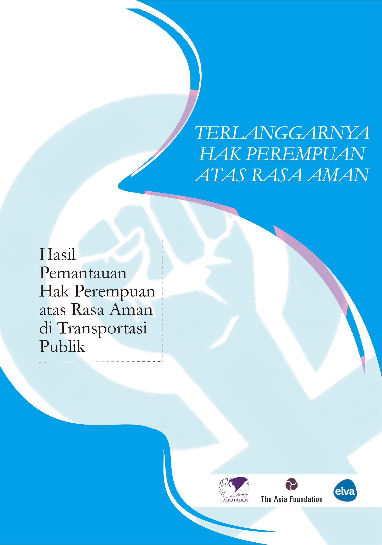 Booklet Terlarangnya Hak Perempuan atas Rasa Aman