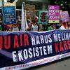 "Pernyataan Sikap ""Ruu Air Harus Melindungi Ekosistem Karst"""