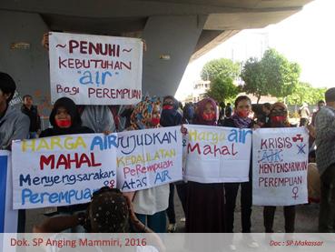 Aksi Air Makassar