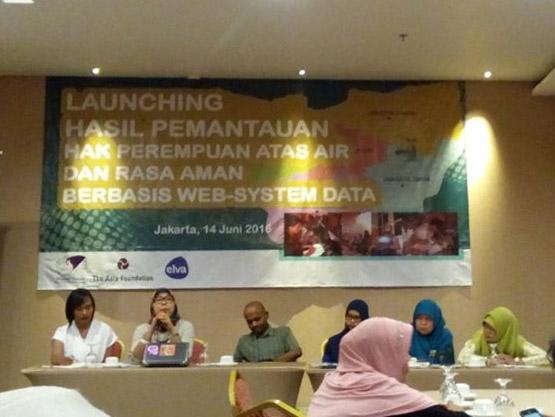 Launching Pemantauan hak perempuan