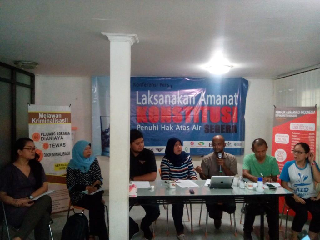 Koalisi Masyarakat Sipil untuk Keadilan Air